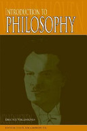 Introduction to Philosophy Book