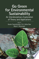 Go Green for Environmental Sustainability Book