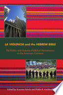 La Violencia And The Hebrew Bible