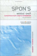 Spon s Middle East Construction Costs Handbook  Second Edition