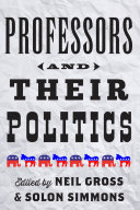 Professors and Their Politics