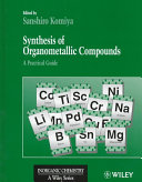 Synthesis Of Organometallic Compounds Book PDF