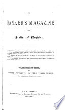 The Bankers' Magazine, and Statistical Register