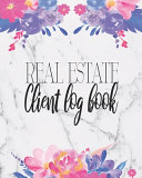 Real Estate Client Log Book