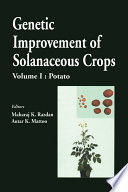 Genetic Improvement of Solanaceous Crops  Volume 1