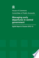 Managing Early Departures in Central Government