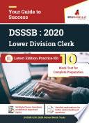 DSSSB LDC 2020   10 Full-length Mock Test For Complete Preparation