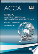 Acca - P2 Corporate Reporting (International and UK)
