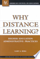 Why Distance Learning