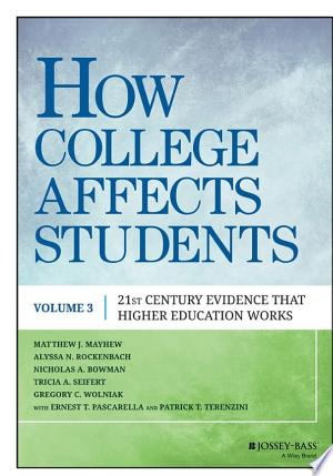 Download How College Affects Students online Books - godinez books