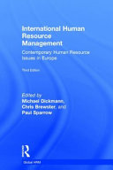 Contemporary Human Resource Issues in Europe