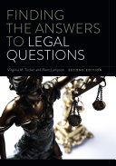 Finding the Answers to Legal Questions  Second Edition