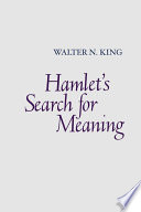Hamlet's Search for Meaning PDF