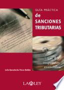Guía práctica de sanciones tributarias