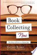 Book Collecting Now