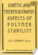 Kinetic and Thermodynamic Aspects of Polymer Stability Book