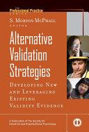 Alternative Validation Strategies