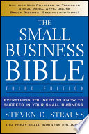 The Small Business Bible Book