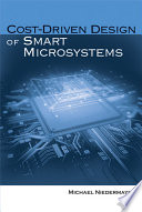 Cost Driven Design of Smart Microsystems Book