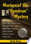 "Masters of the ""Humdrum"" Mystery Online Book"