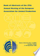 Book Of Abstracts Of The 57th Annual Meeting Of The European Association For Animal Production