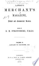 The Merchants  Magazine  Statist and Commercial Review Book