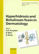 Hyperhidrosis and Botulinum Toxin in Dermatology