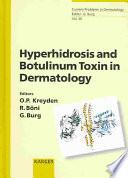 Hyperhidrosis And Botulinum Toxin In Dermatology Book PDF