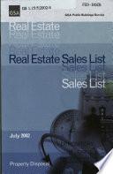 U S  Real Estate Sales List