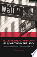 Modern American Drama: Playwriting in the 1930s