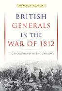 British Generals in the War of 1812