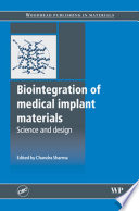Biointegration Of Medical Implant Materials Book PDF