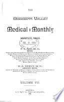 Mississippi Valley Medical Monthly Book
