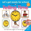 Wipe Clean Telling Time Book