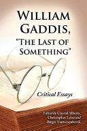 William Gaddis,