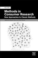 Methods in Consumer Research  Volume 1