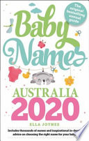 Baby Names Australia 2020