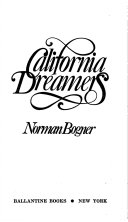 California Dreamers Book