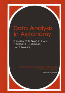 Data Analysis in Astronomy