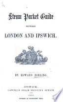 Steam Packet Guide Between London And Ipswich Book PDF
