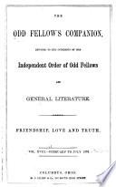 The Odd Fellow S Companion Book PDF