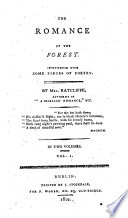 The Romance of the Forest  Etc