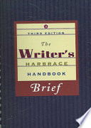 The Writer S Harbrace Handbook Brief Edition