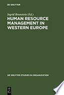 Human Resource Management in Western Europe