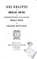Beccaria   On Crimes and Punishments  and Other Writings by Cesare     Tradebit