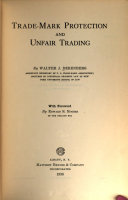Trade-mark Protection and Unfair Trading