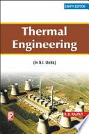Thermal Engineering Book PDF