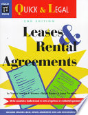 Leases and Rental Agreements