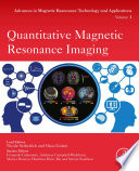 Quantitative Magnetic Resonance Imaging Book