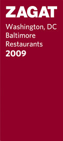 Zagatsurvey 2009 Washington  DC Baltimore Restaurants